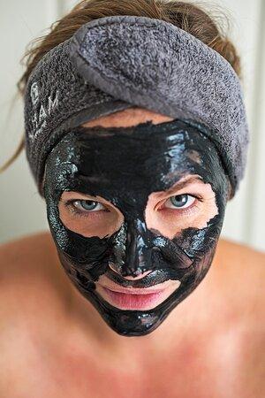 spabehandlingar såsom ansiktsmask