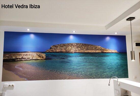 Balcony seaview Premium room Hotel Vedra Ibiza San Antonio Vista al mar habitacion Premium Hotel Vedra Ibiza San Antonio