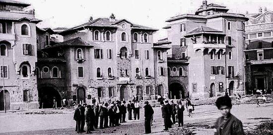 Una vecchia fopo - Roma sparita