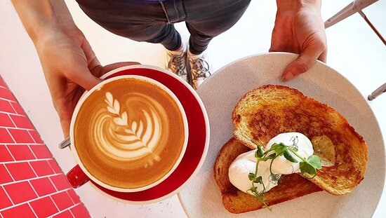 Eggs and coffee!