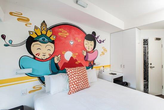 Majestic Minima Hotel Art Room #05 'A REMINISCENT DRIVE'