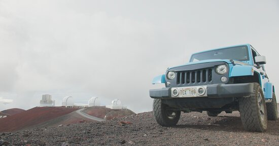 How to visit the Mauna Kea summit? You get a Jeep!