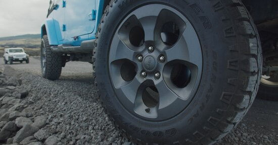 Upgraded Off-road tires