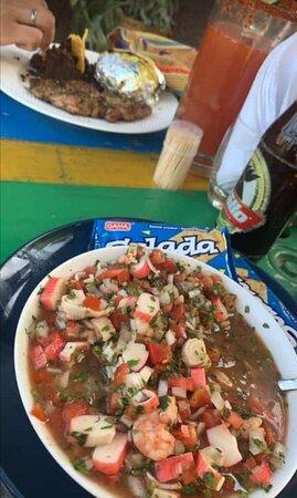 Fray Bartolome de las Casas, Guatemala: Ceviche de La Bocca
