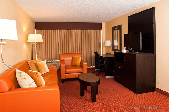 Our living area of our Suite