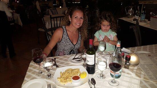 Noche de mariscos y pastas en Gianni's