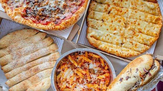 Huber Heights, Ohio: pizza pasta breadsticks
