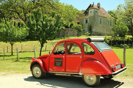 Gastronomic Tour - Daily - with Vintage French 2CV (1 to 12 persons)