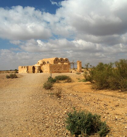 Azraq, Jordanie: Quseir Amra 2
