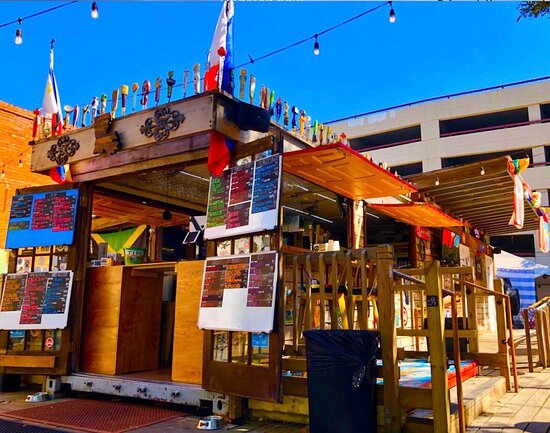 When the weather is nice outside the Wurst is THE best spot downtown to relax w/ friends and family.
