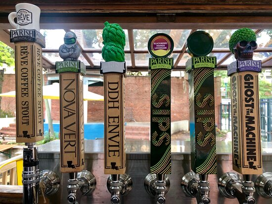 THE best spot to sample Parish Brewing beers! 30+ craft beers on tap from local to regional & a few seasonal miscellaneous options rotating always. We use the perfect gas blend and pressure for each beer which is at the ideal temperature. Try a free sample before you buy one!