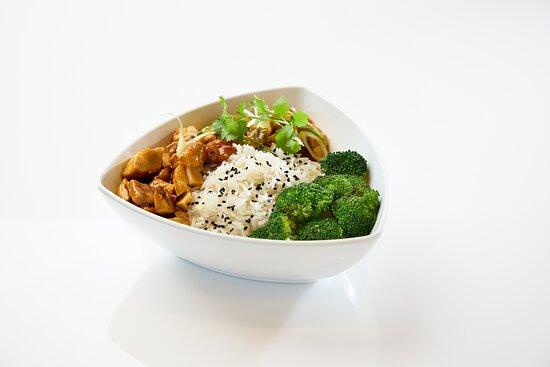 Teriyaki Chicken and Rice Bol