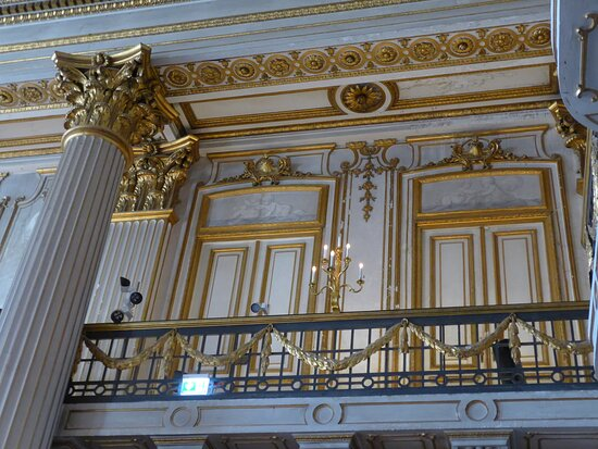 Ludwigslust Palace, Gilded Hall