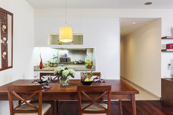 Kitchen of Three Bedroom Executive
