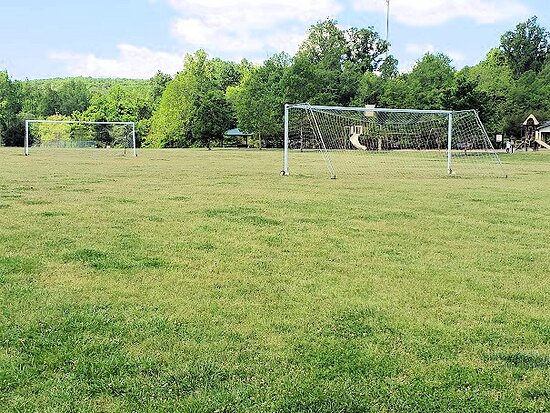 open field and playground