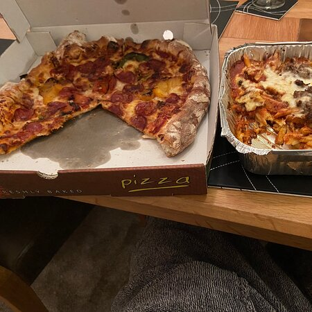 Lovely takeaway, high quality food delivered