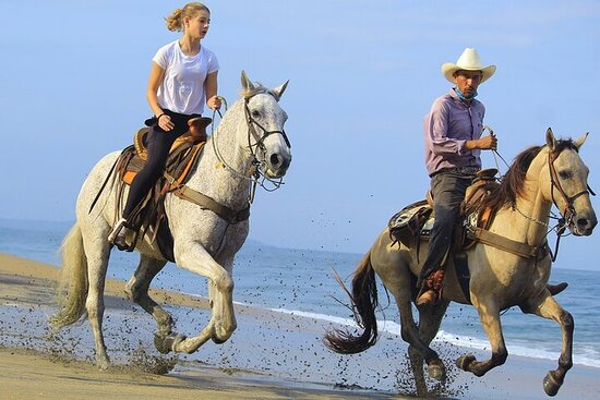 Horseback Riding in Sayulita Through Jungle Trails to the Beach