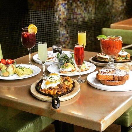 Enjoy Breakfast at River's Edge.