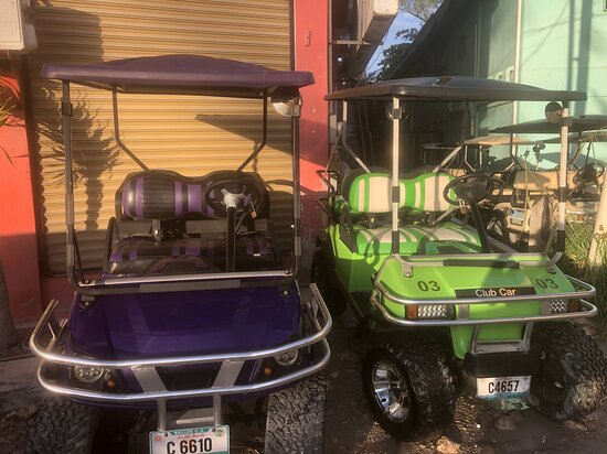 Blue Hole Golf Cart Rentals