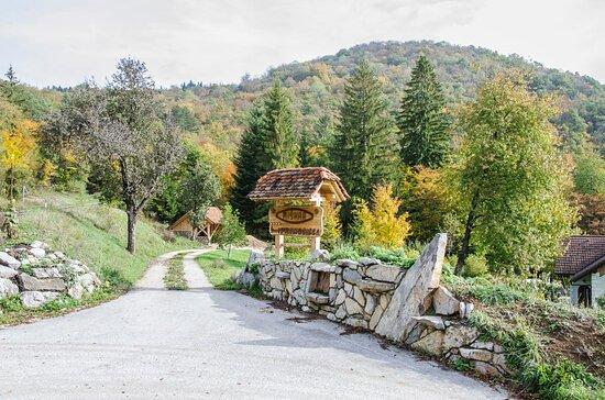 Zerovnica, Slowenien: Entrance to the property of B&B Miskar