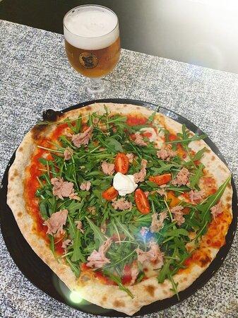 Pizza Tonno e Rucola