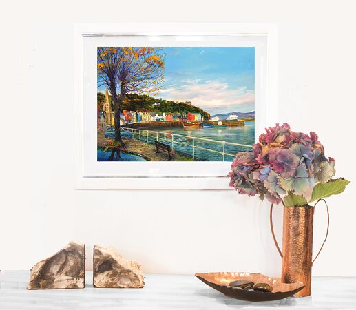Autumn leaves limited edition giclee print by Ronnie Leckie