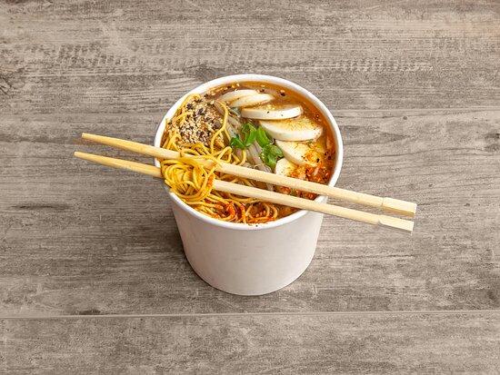 Prawn Ramen Soup