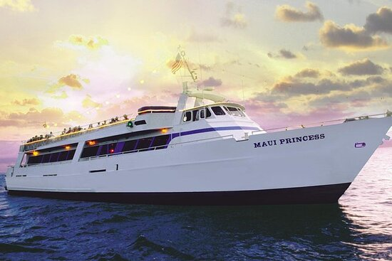 Maui Sunset Dinner and Dance Cruise from Lahaina Harbor