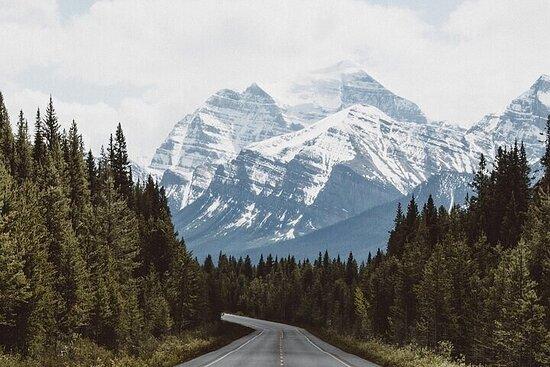 Visite de conduite audio guidée par GPS entre Calgary et Vancouver