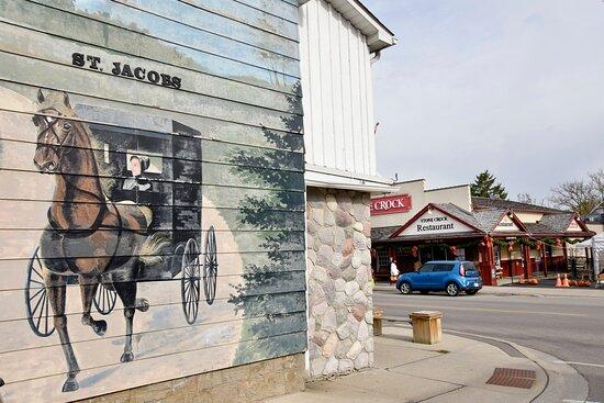 St.Jacobs Village Mural Art