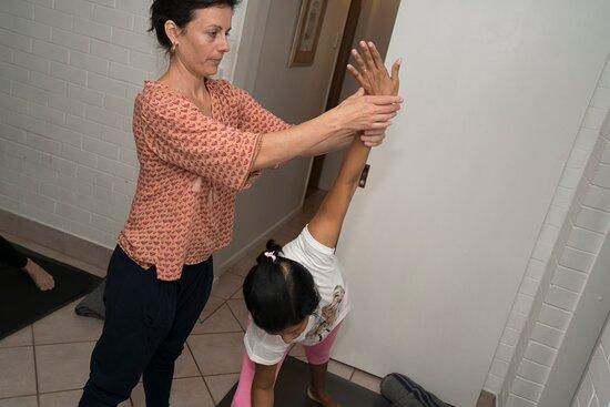 Yoga therapy with Kim Allan