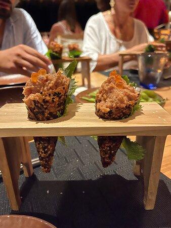 Insanely fresh sushi
