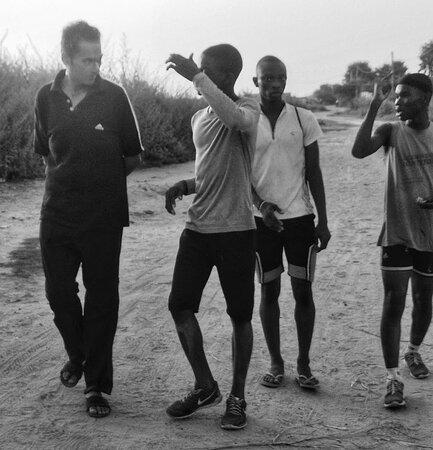 Bijilo, Gambia: TGC Athletics academy Serrekunda The Gambia