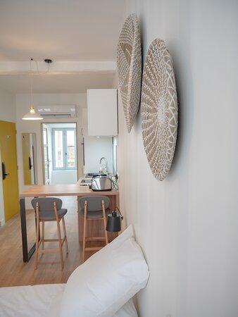 Appartement charmant, lit queen size (160x200)