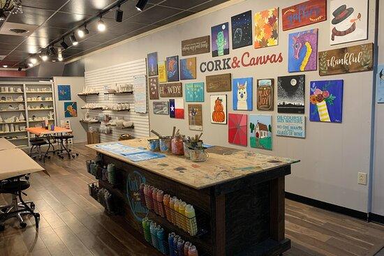 Cork & Canvas