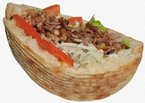 Lyon, France: kebab