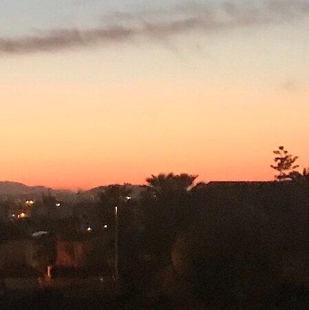 Cagliari un tramonto ritardato