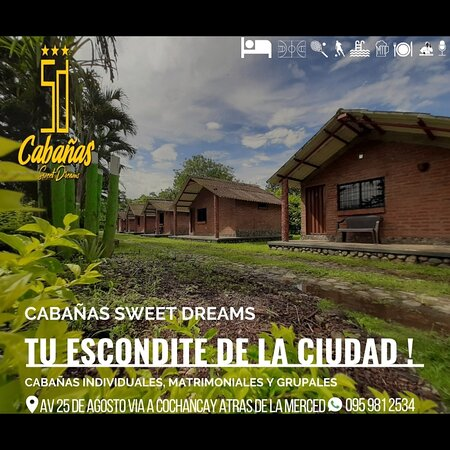 La Troncal, Ecuador: Hotel, pool,jacuzzi tenis, indor, basketball and volleyballcourts. Our services include breakfast and use of facilities.