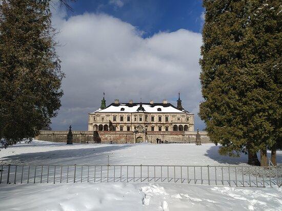 Pidhirtsi, Ukraina: Подгорецкий замок
