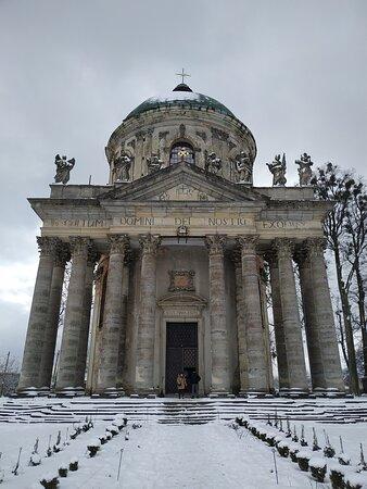 Pidhirtsi, Ukraina: Римско-католический костёл