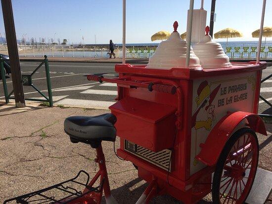 Le chariot de glace 🍦