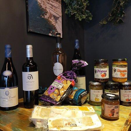Salé, sucré, vin et spiritueux pour vos repas en famille ou entre amis. Ô Corse 24 rue Brézin Paris 14 01 45 43 62 42