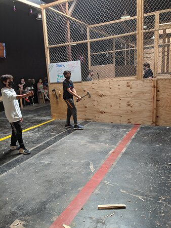 Axes Who knew fun for adults and kids??