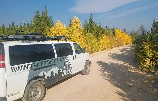 The Loop Road outside of Lander in Fall