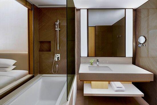 Guest Bathroom - Shower and Bathtub