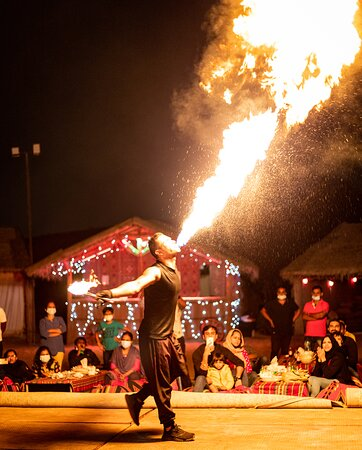Be the spark ... live fire show!!  Make your moments simply unforgettable!