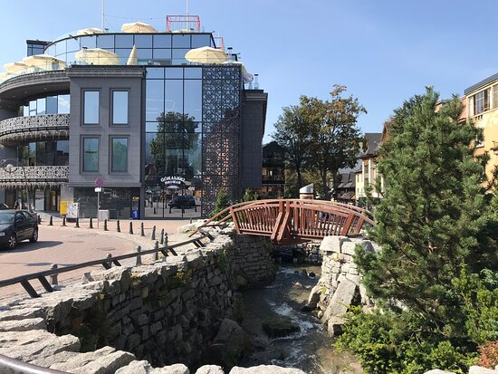 Mostek na Krupowkach