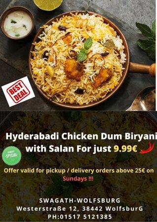 Hyderabadi Biryani Every Sunday
