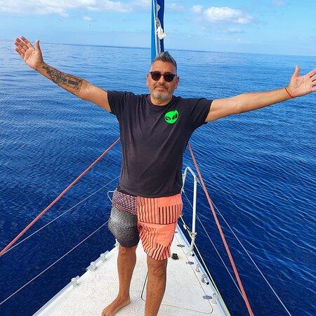 Buen barco de excursiones puerto colom Tenerife sur sailling excursions gulliver