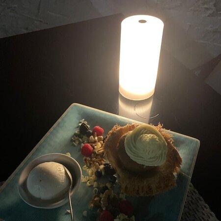 Romantic beach dining on the